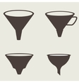 Funnel icon vector image