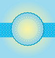 blank wedding card vector image vector image