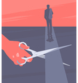 End of relationship vector image vector image