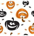 halloween seamless pattern 7 vector image vector image