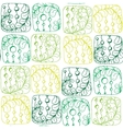 pattern stripes and circles vector image vector image
