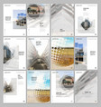 A4 brochure layout covers design templates