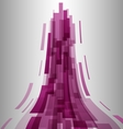 Abstract pink elements technology background vector image vector image