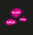 black friday is hot and smoke dark web banner for vector image vector image