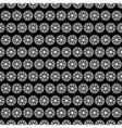 black web seamless pattern vector image vector image