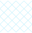 Blue Grid White Diamond Background vector image vector image