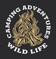 camping firewood vintage adventure outdoor logo 3