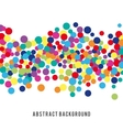 Colorful abstract spot background vector image