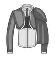 Costume of toreador icon gray monochrome style vector image vector image