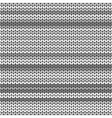 Dark Gray striped knitted background vector image vector image