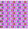 seamless pattern with circles in different colors vector image vector image
