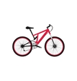 Bicycle Design Flat Isolated vector image vector image