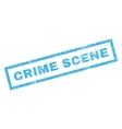 Crime Scene Rubber Stamp vector image vector image