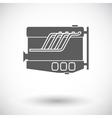Engine icon vector image vector image