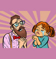 hipster couple man and woman crying and praying vector image