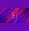 minimalist trendy purple violet geometric vector image vector image