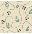 Sailor pattern vector image vector image