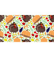Seamless pattern for thanksgiving day