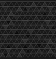seamless pattern of gray triangles vector image
