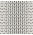 Seamless pattern with abstract hand drawn knitted vector image vector image