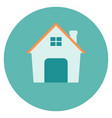 small house icon vector image vector image