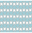 teeth pattern seamless vector image vector image