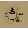 Coffee Outline vector image vector image