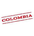 Colombia Watermark Stamp vector image vector image