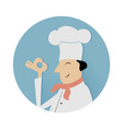 Cook chief symbol vector image vector image