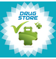Drugstore Accept Icons vector image vector image