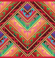 ethnic striped seamless pattern colorful vector image