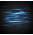 glowing neon stripes design vector image