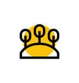 park icon logo vector image vector image