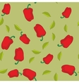 Red pepper seamless texture 604 vector image vector image