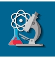 Science chemistry laboratory vector image vector image