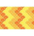 seamless geometric pattern with hand drawn orange vector image