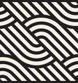 seamless pattern geometric striped vector image