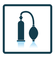 Vacuum penis machine icon vector image vector image