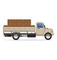 cargo truck concept 02 vector image vector image
