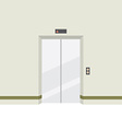 Closed Doors Elevator vector image
