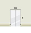 Closed Doors Elevator vector image