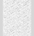 diagonal interrupted lines vector image