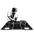 Disk jockey vector | Price: 1 Credit (USD $1)