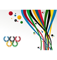 London Olympics Games 2012 background vector image