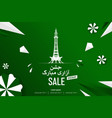 menar-e-pakistan happy independence day vector image vector image