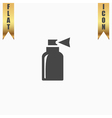 Spray flat icon vector image