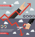 Strategy of Technical Analysis Infographic vector image