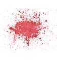 Blood watercolor vector image
