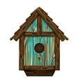 bird house wall sticker vector image