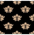 Retro damask seamless pattern vector image